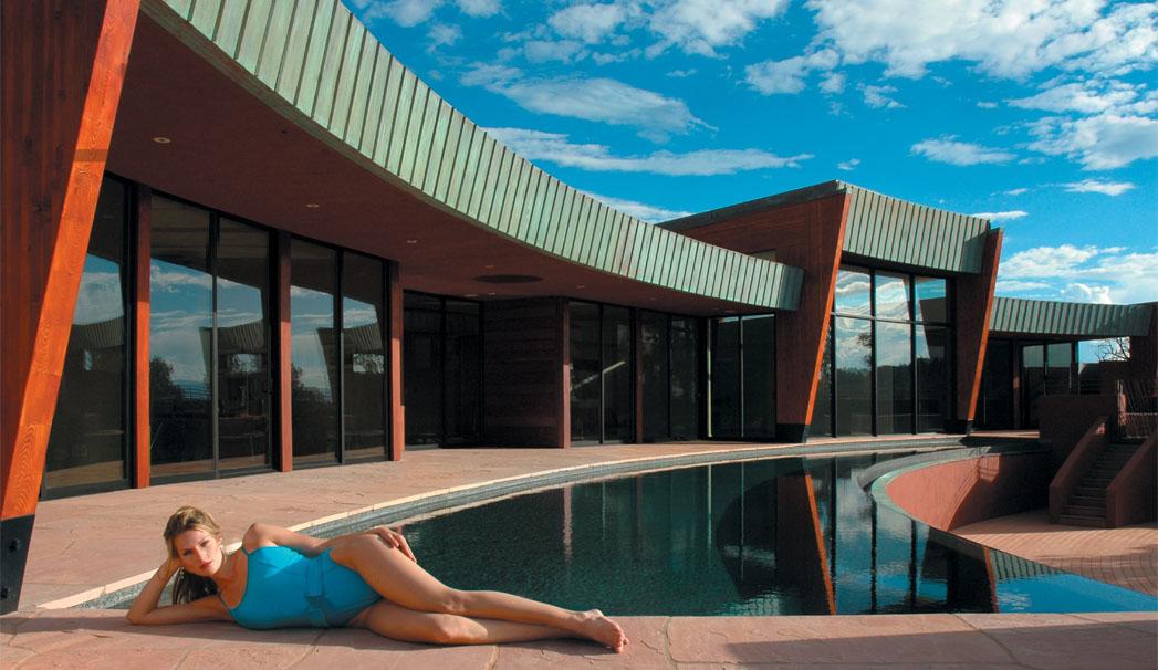 Sedona arizona contemporary home i sedona monthly magazine for Sedona architects