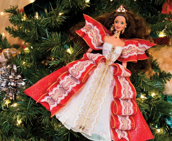 Artists and business owners create themed trees for Tlaquepaque's Festival of Trees.