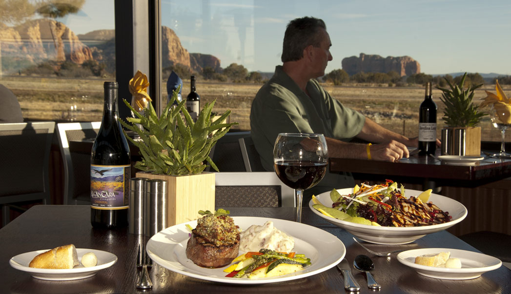 There S One Common Complaint We Hear About Sedona Restaurants And It Has Nothing To Do With The Food Diners Seeking A Great View Along Fabulous