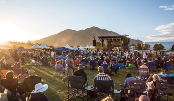 Music festival in Flagstaff
