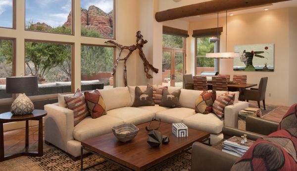 Western-inspired Sedona interior design