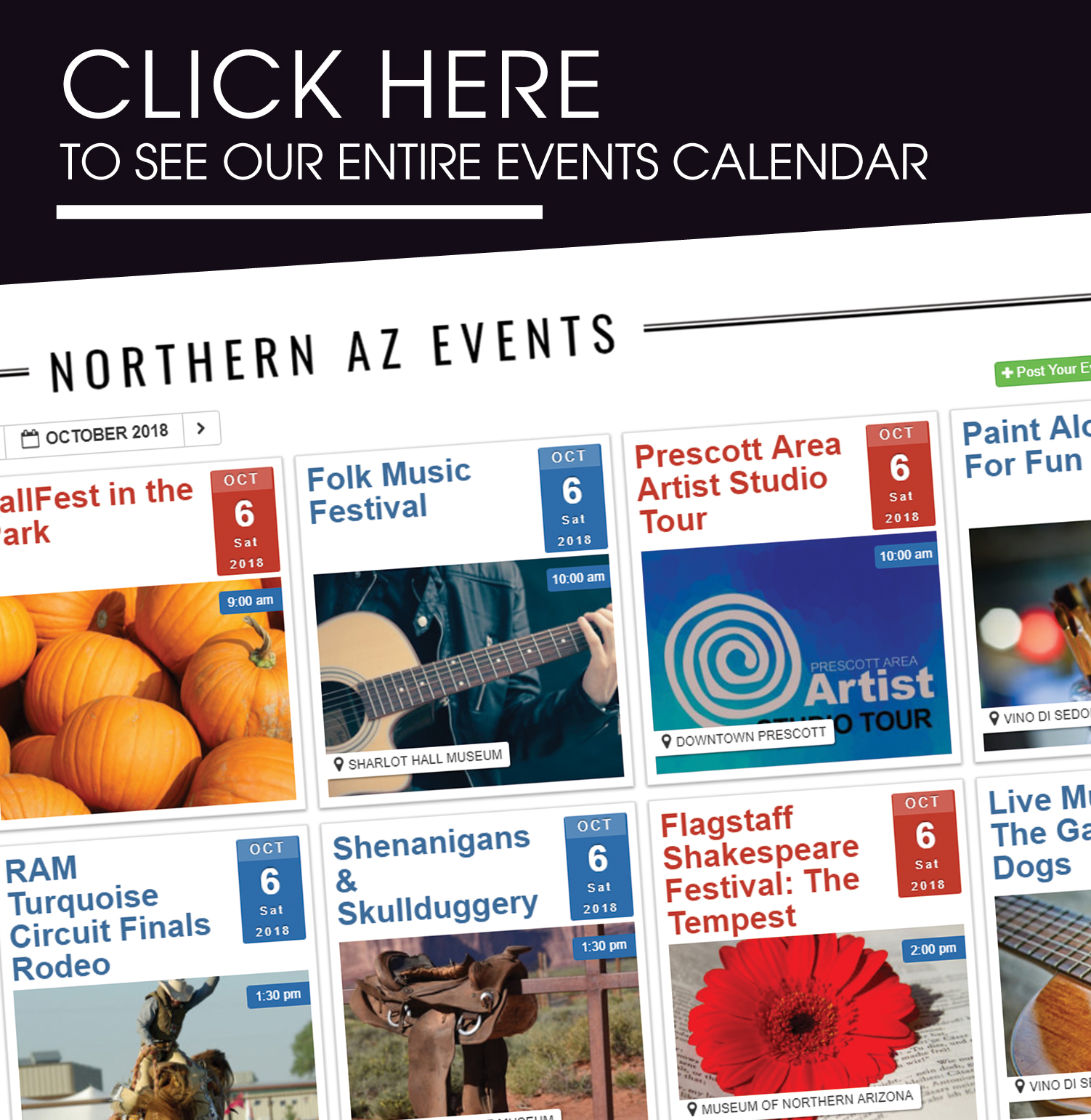 Events in Northern Arizona