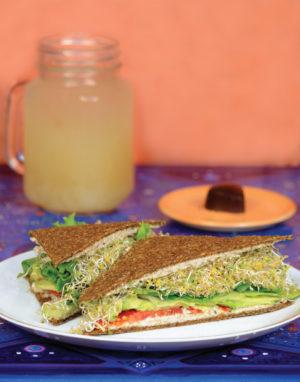 Avocado Herb Sandwich