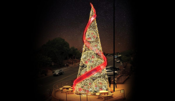 Sedona's Tree Lighting & Santa Visit