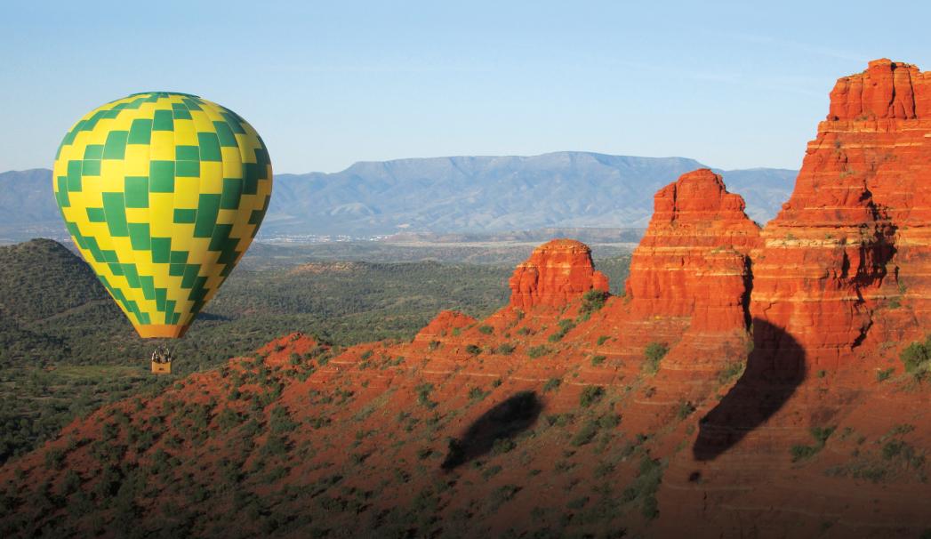 Hot Air Ballooning Sedona