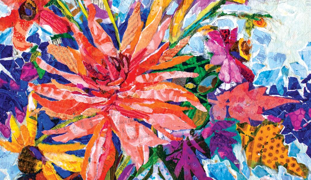 Zoom Live Fabulous Florals!